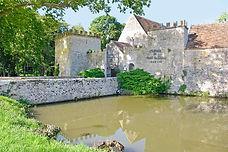 voyage, vélo, château, Vault de Lugny