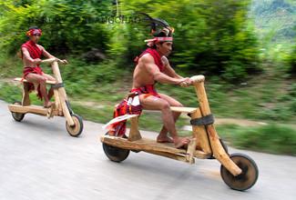 Les indiens touchent du bois !
