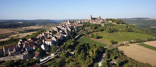Vélo, voyage, vézelay