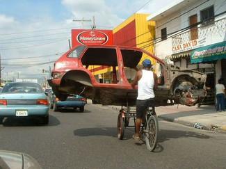 Après les portes vélos, les portes voitures !