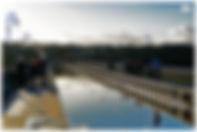 Voyage, vélo, tandem, pont, canal, Briare