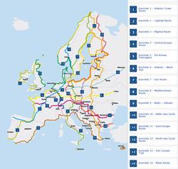 Les 15 Eurovelo routes !