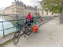 Aventure, voyage, vélo, fontainebleau, foret