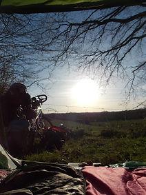 Avenue verte, Voyage, vélo, tandem, cyclotourisme, cyclocamping, forges les eaux