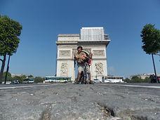 voyage, vélo, tandem, Paris