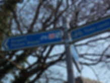 Avenue verte, Voyage, vélo, tandem, cyclotourisme, cyclocamping, signalétique, panneau