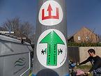 Avenue verte, Voyage, vélo, tandem, cyclotourisme, cyclocamping, signalétique, direction