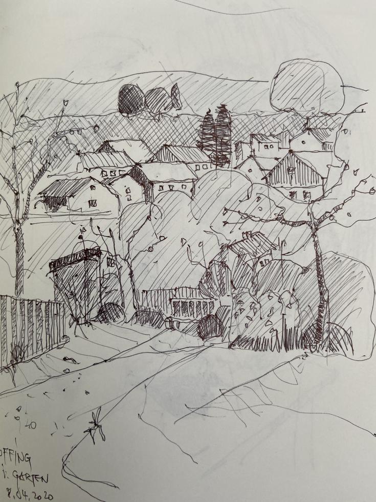 Uffing / Isoldes Garten