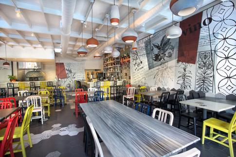 Restaurant design, San Diego CA
