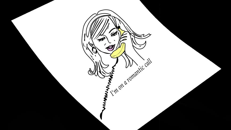 Romantic Call Print