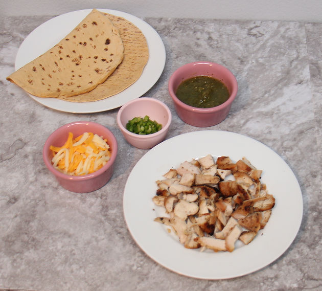 Quick Easy Meal Prep Chicken Quesadilla Jacquelines Journey