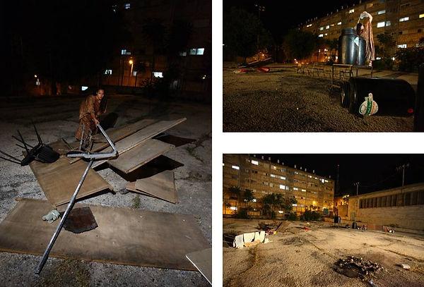 Nissreen Najjar, Water roof, Palestinian Art, Palestinian Artist, women art