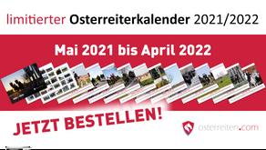 limitierter Osterreiter-Monatswandkalender Bestellbar nur bis zum 22.04.2021