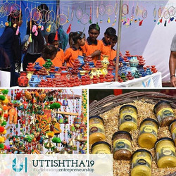 Uttistha'19 also witnessed stalls from N