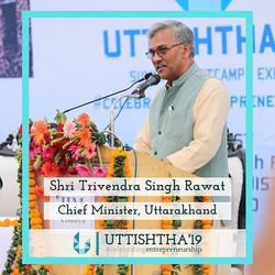 Hon'ble chief minister shri Trivendra Si