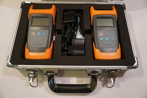 Fiber Optic Loss Test Set (Light Source and Power Meter)