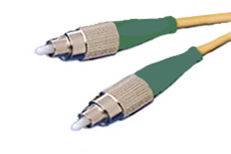 Single Mode (OS-1) Simplex FC/UPC to FC/UPC Fiber Optic Patch Cord
