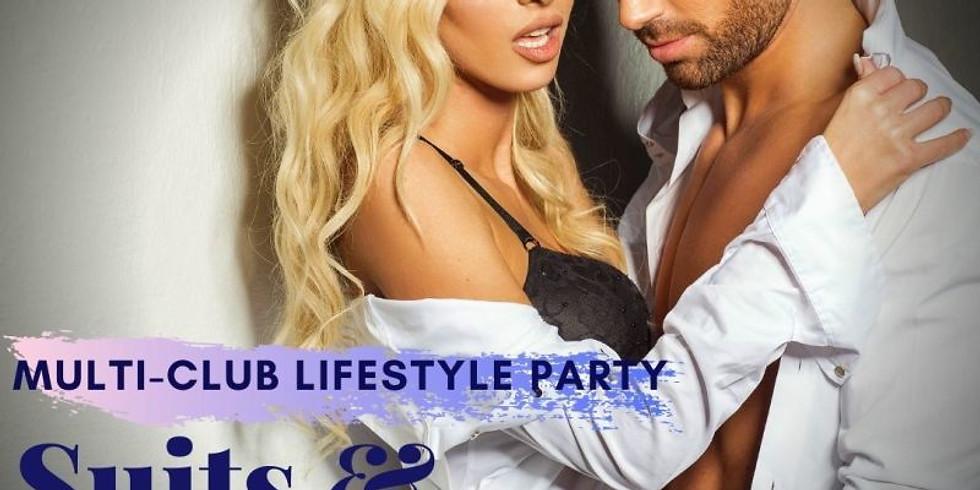 Suits & Nudes Virtual Party