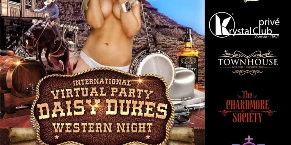 Daisy Dukes Western Night VirtualSwinging Party