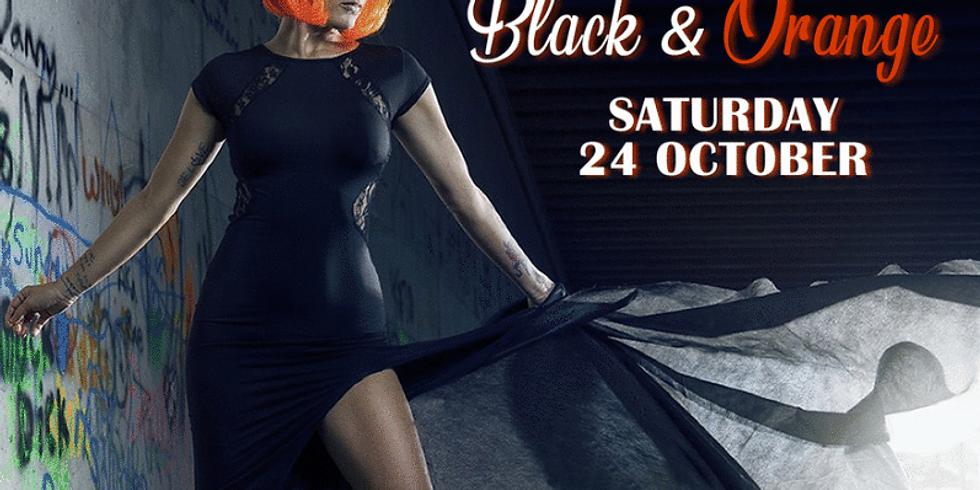 Black and Orange Virtual Party