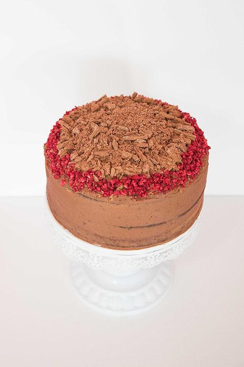INDULGENT CHOC LOVERS CAKE
