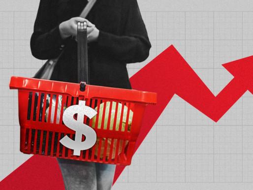 Abril fue tope de la inflación