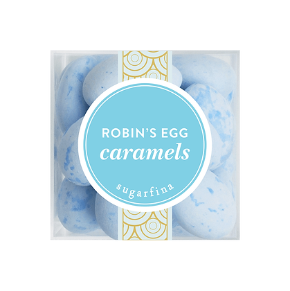 ROBIN'S EGG CARAMELS SMALL CUBE
