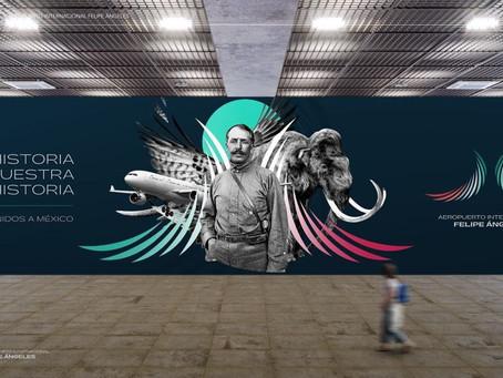 SEDENA registra nuevo Logotipo del Aeropuerto Felipe Ángeles