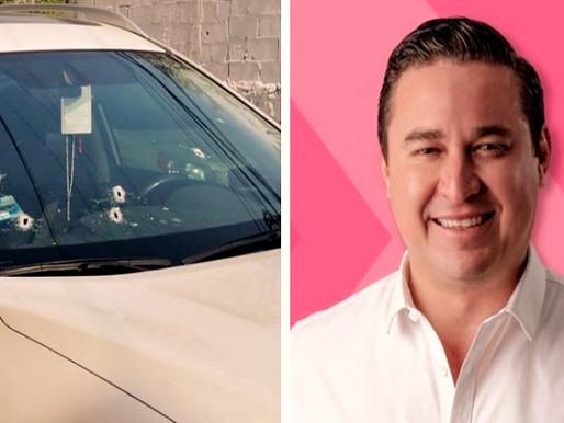 Ataque a candidato José Alberto Alonso, de Fuerza por México candidato a la alcaldía de Acapulco