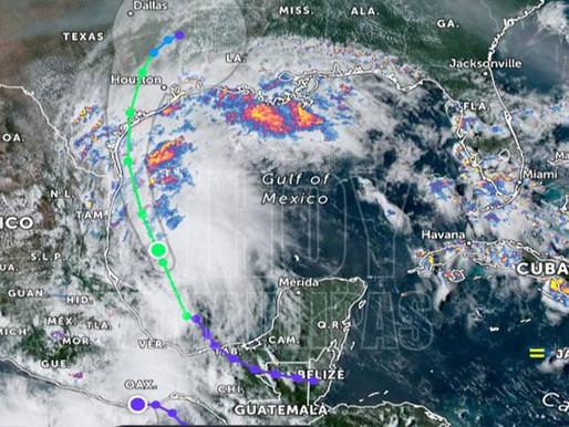 Nicolás traerá fuerte lluvias en 8 Estados