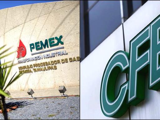 CFE y Pemex reciben mas presupuesto en 2022