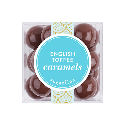ENGLISH TOFFEE CARAMELS SMALL CUBE