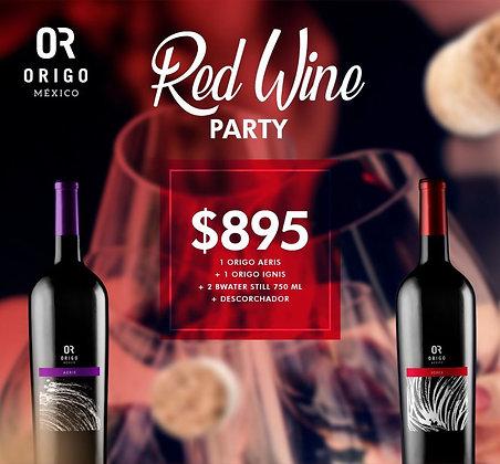ORIGO RED WINE PARTY