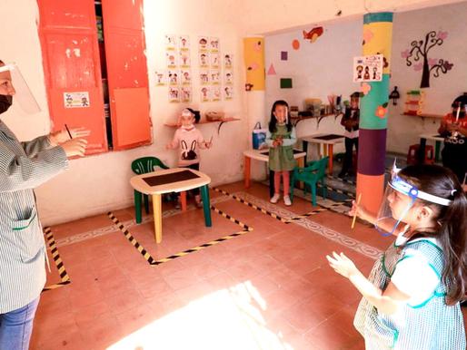 Ya son 6 casos positivos por COVID-19 en escuelas