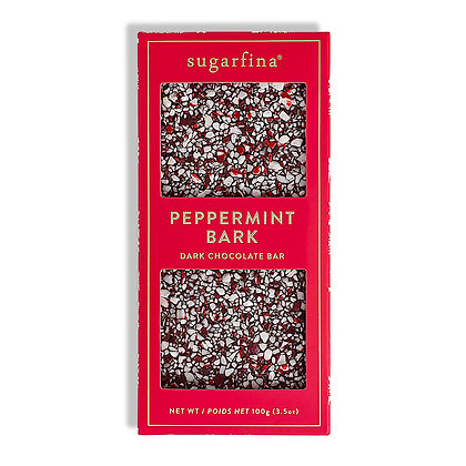 Dark Chocolate Peppermint Bark - HOLIDAY