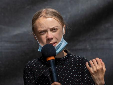 """Greta Thunberg denunció este martes los """"30 años de bla bla"""" sobre el clima por líderes mundiales"""