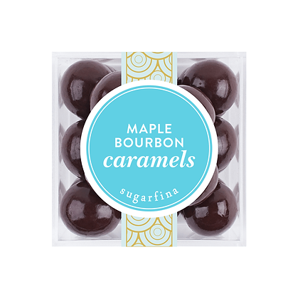 MAPLE BOURBON CARAMELS SMALL CUBE