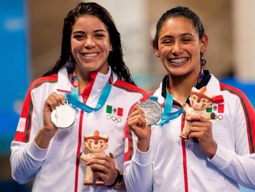 Gabriela Agúndez y Alejandra Orozco medalla de bronce en plataforma de 10m