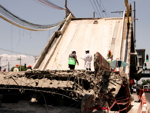 Línea 12 deficiencias en la construcción causa del desplome