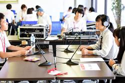 ラジオ体験 inオープンキャンパス