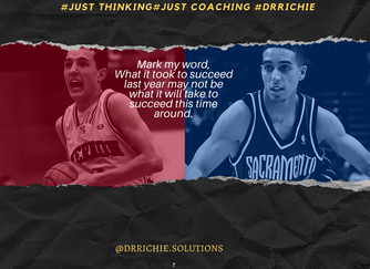 #just thinking #just coaching