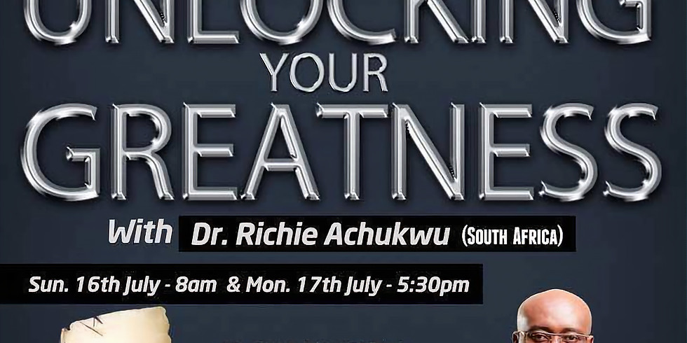 Unlocking your Greatness