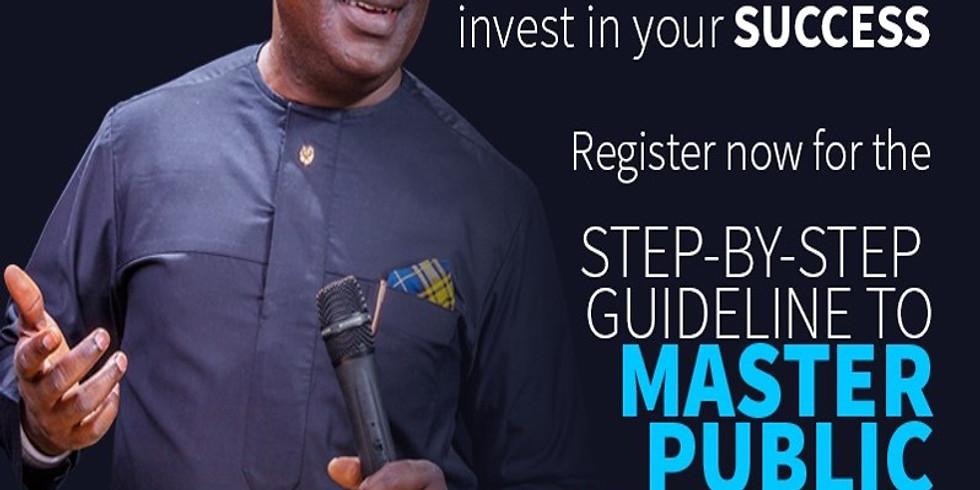 Masterclass in Public Speaking