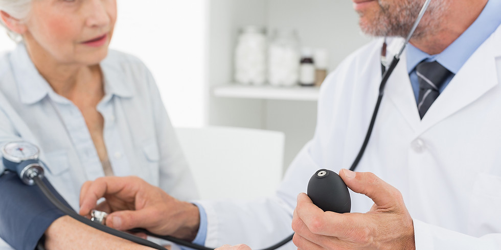 Seniors Blood Pressure Check