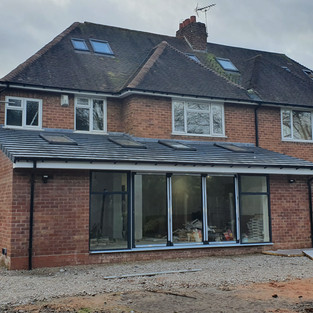 Single storey extension Solihull
