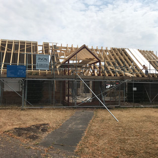 Construction of bungalow