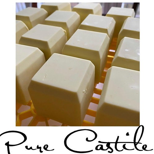 Pure Castile - Cold Processed Soap Cured for 12 months