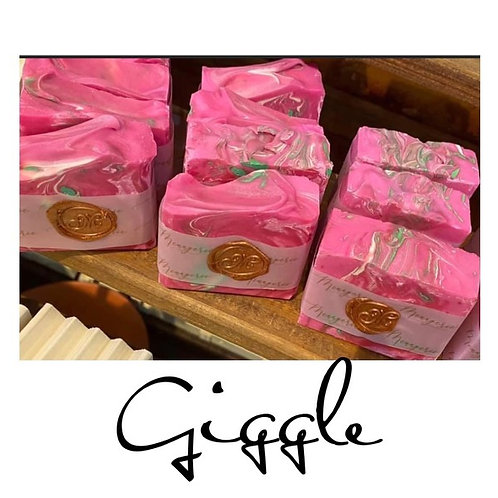 Giggle - Hand Crafted Soap 6.5 oz bar will last 3 months minimum