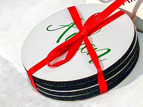 Coasters in Rubber - Stock