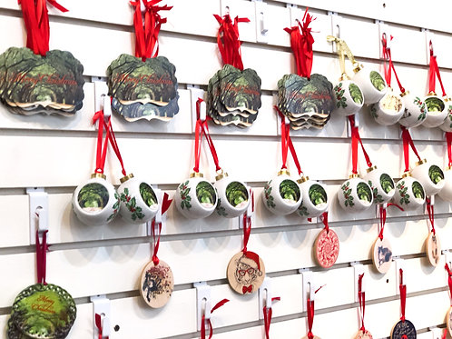 Christmas Ornaments-Stock